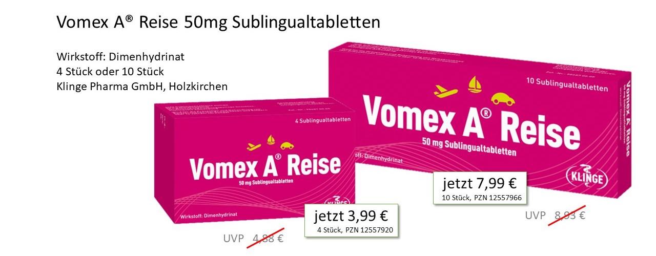 Vomex A Reise Angebot